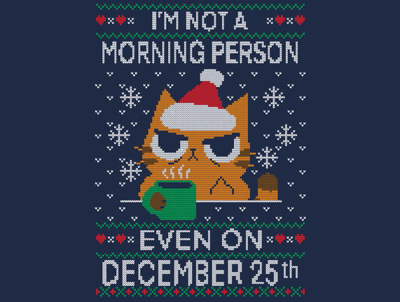 Grumpy Xmas Morning