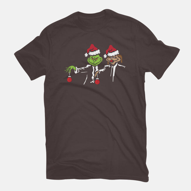 Christmas Fiction-mens basic tee-jrberger