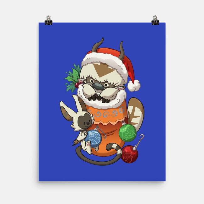 Stocking Stuffer Elemental-none matte poster-DoOomcat