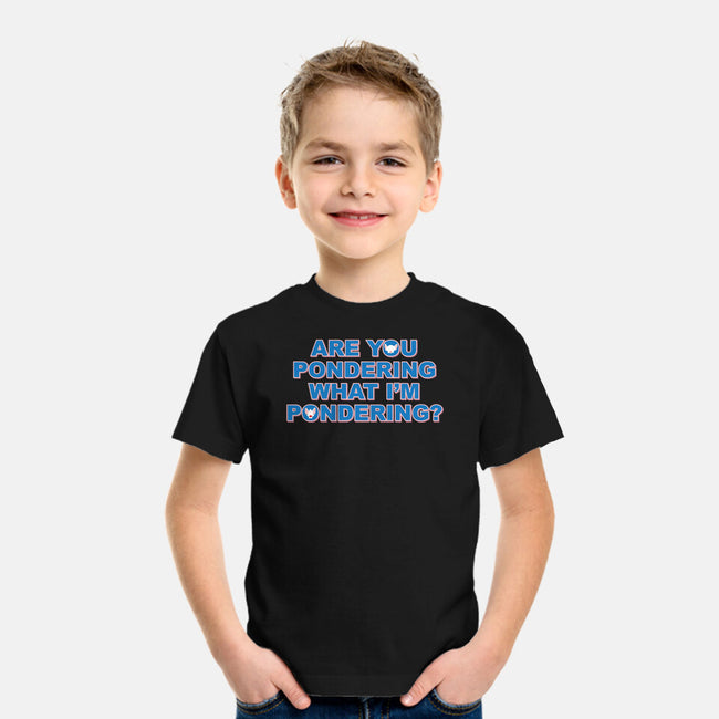 Are You Pondering-youth basic tee-powered_up