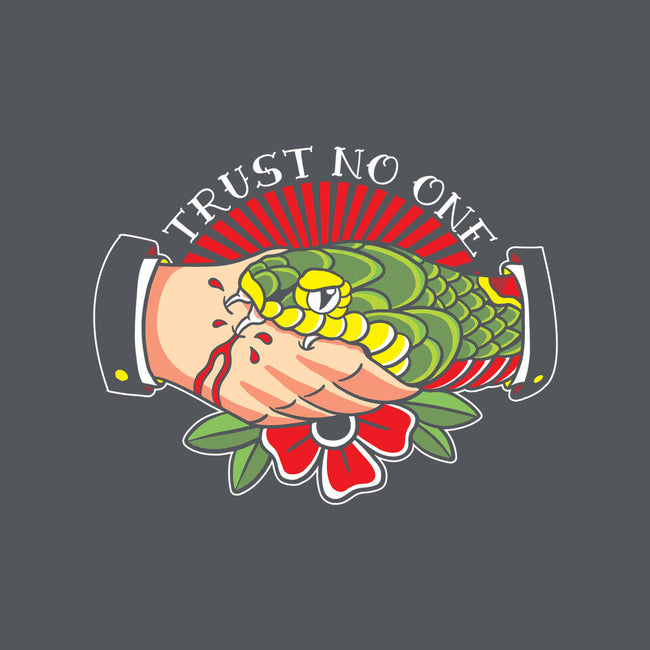 Trust No One Tattoo-womens basic tee-Bezao Abad