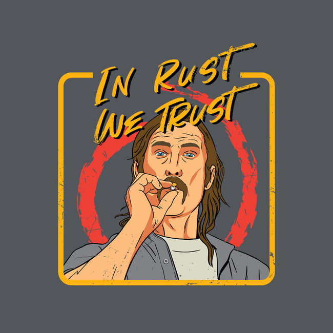 In Rust We Trust-none glossy mug-Sergiouart
