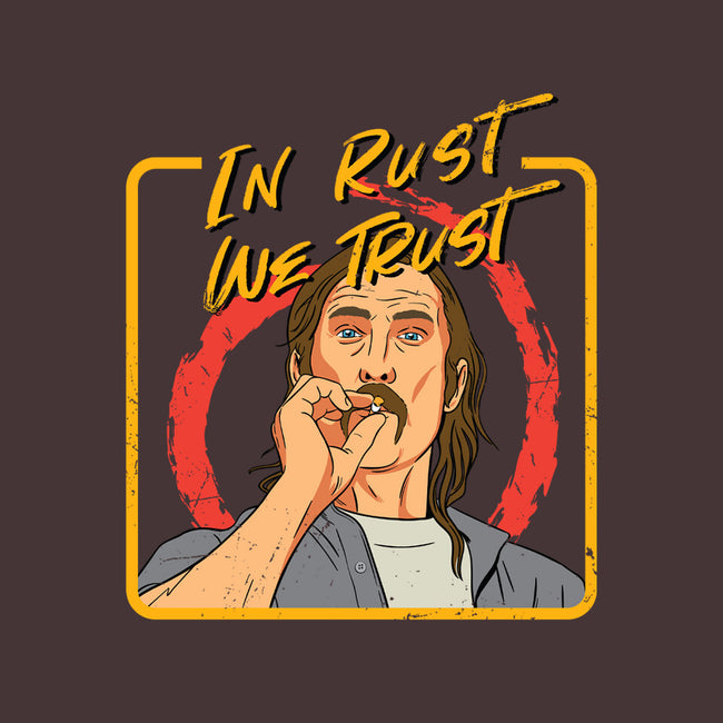 In Rust We Trust-unisex basic face mask-Sergiouart