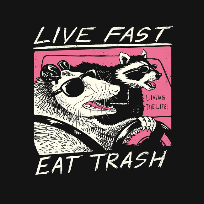 Fast Trash Life-mens basic tee-vp021