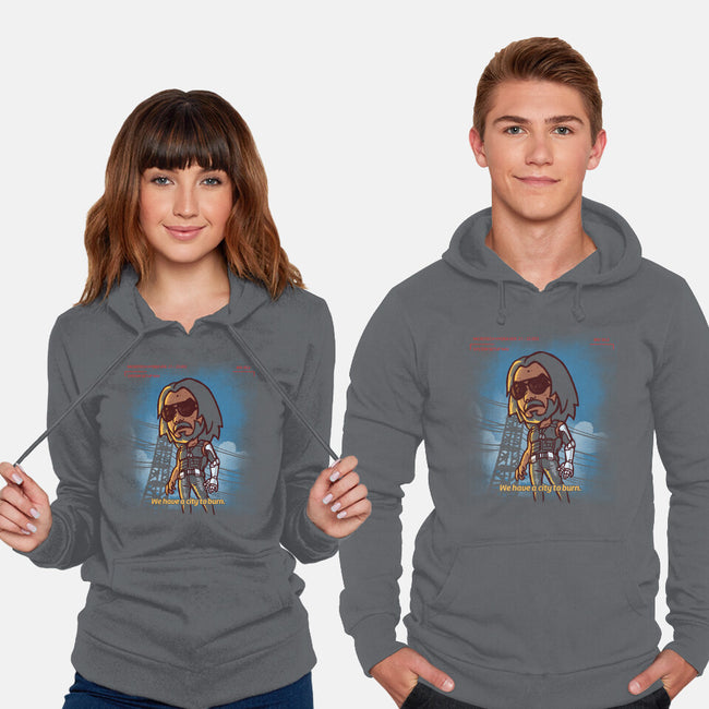 A City To Burn-unisex pullover sweatshirt-estudiofitas