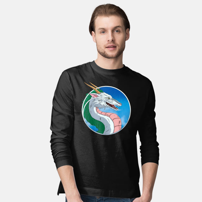 Mortal Haku-mens long sleeved tee-Angel Rotten