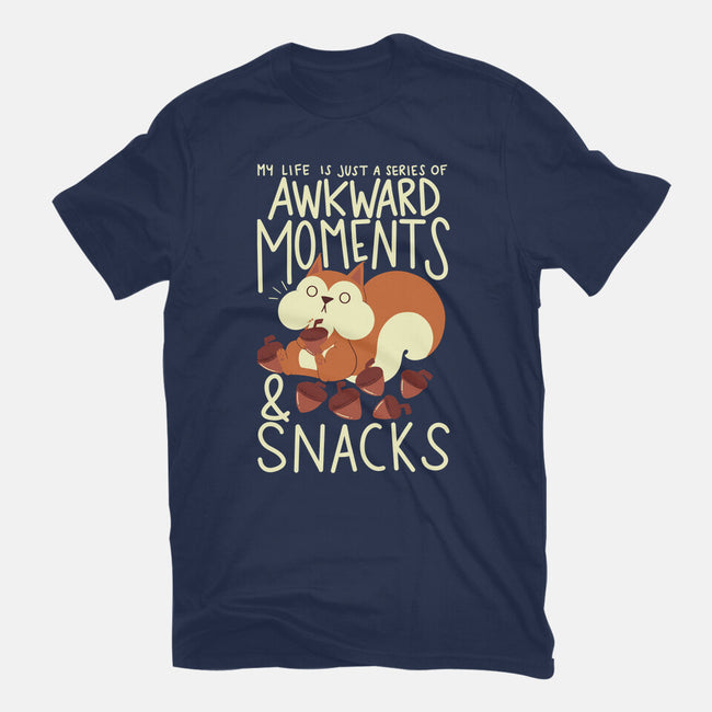 Life In A Nutshell-mens basic tee-TaylorRoss1