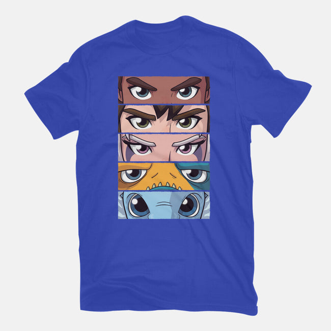 Dragon Prince Eyes-womens basic tee-danielmorris1993