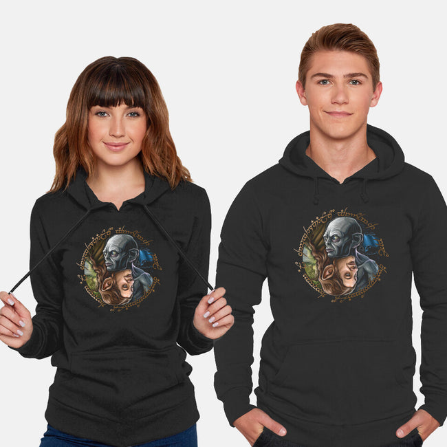 Middle Earth Yin And Yang-unisex pullover sweatshirt-daobiwan