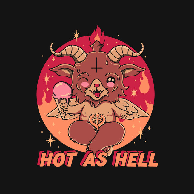 Hot As Hell-none glossy sticker-Thiago Correa