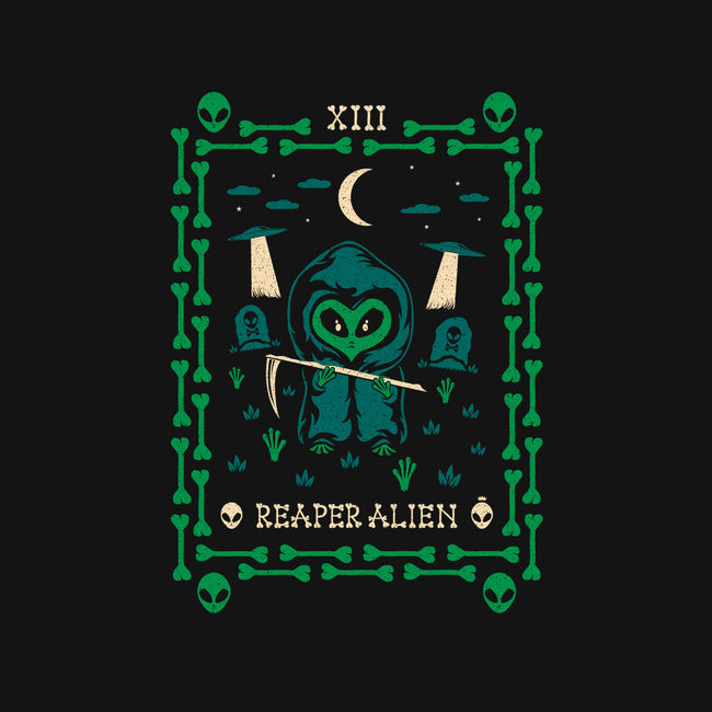 Reaper Alien Tarot Card-youth crew neck sweatshirt-TheWizardLouis