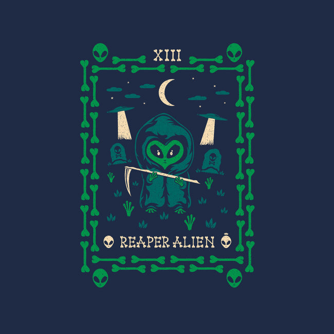 Reaper Alien Tarot Card-mens heavyweight tee-TheWizardLouis