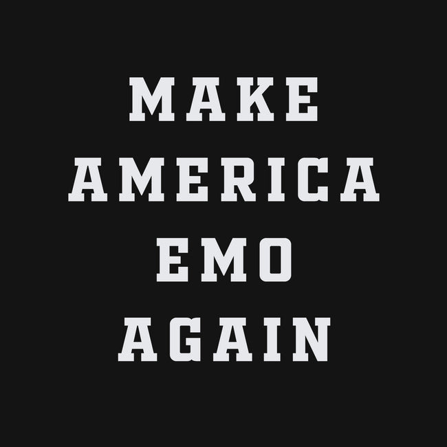 Make America Emo Again-none glossy sticker-Thiago Correa