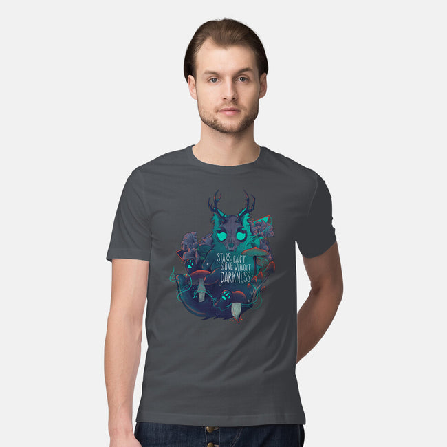 Galaxy Cat-mens premium tee-Jess.Adams.Creates