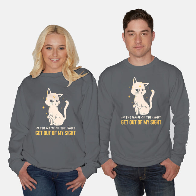In The Name Of The Light-unisex crew neck sweatshirt-koalastudio