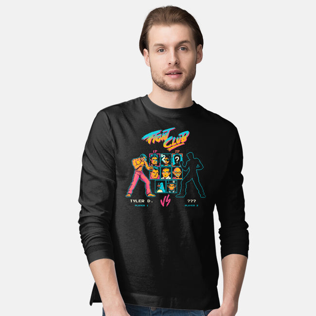 Ready, Fight-mens long sleeved tee-Mathiole