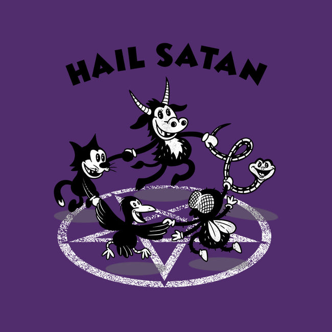 Hail Satan-unisex basic tank-Paul Simic