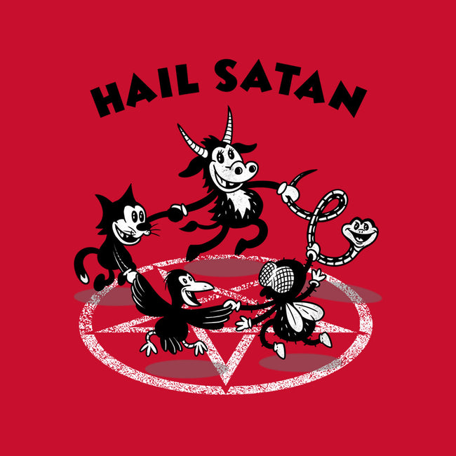 Hail Satan-mens premium tee-Paul Simic