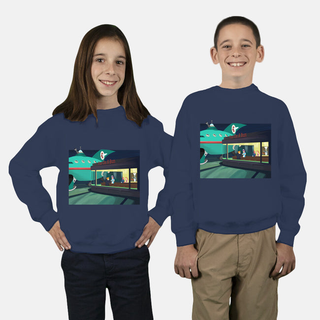 Fun On A Bun-youth crew neck sweatshirt-SeamusAran