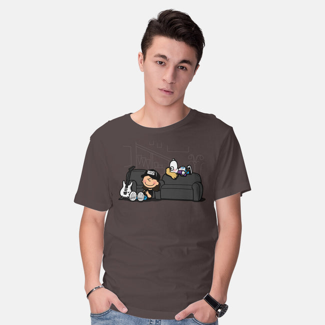 Peanuts World-mens basic tee-Boggs Nicolas