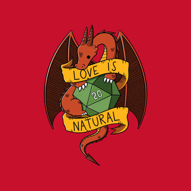 Love is Natural-mens basic tee-TaylorRoss1