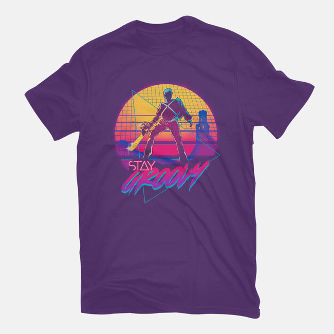 Stay Groovy-mens basic tee-Getsousa!