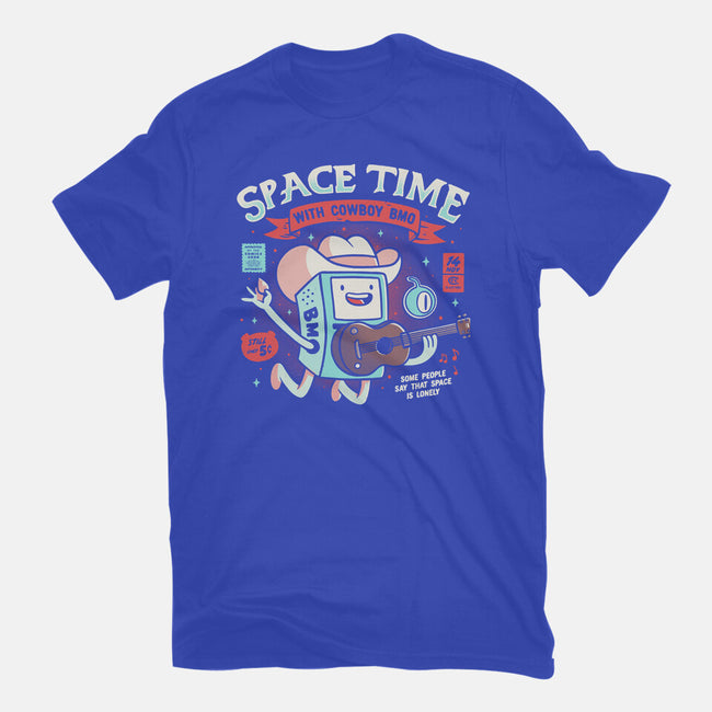 Space Time-mens basic tee-eduely