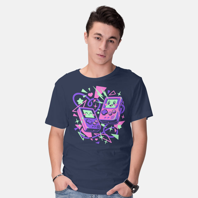 Friend Boys-mens basic tee-ilustrata