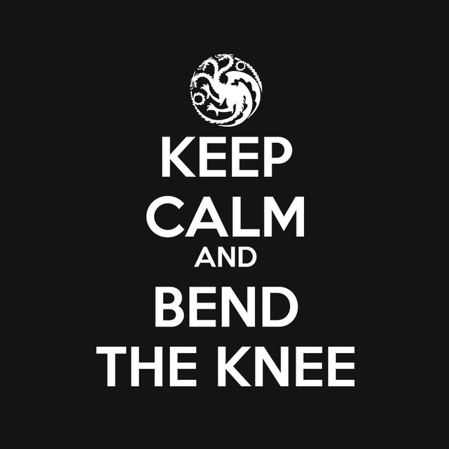 Keep Calm and Bend The Knee-unisex basic tank-Asyram
