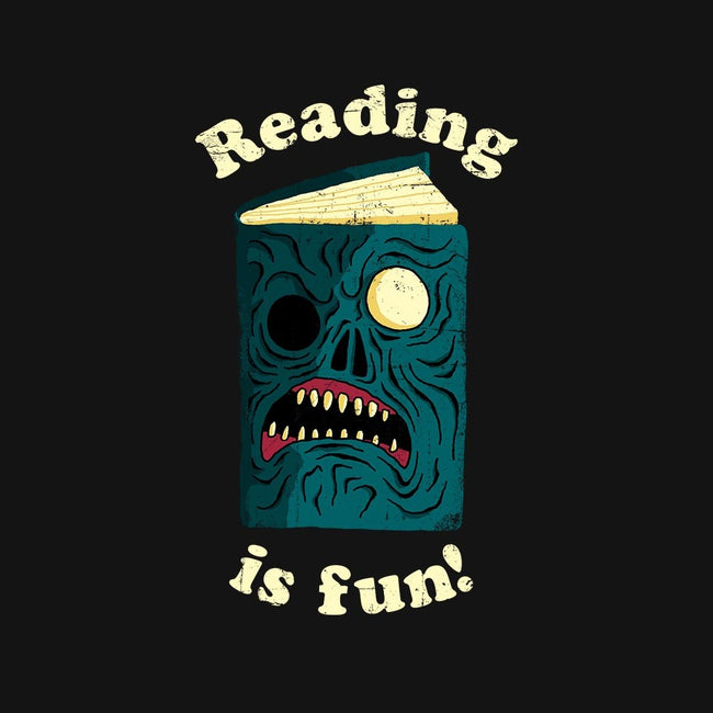 Reading is Fun-unisex pullover sweatshirt-DinoMike