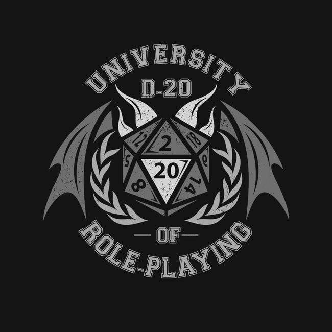 University of Role-Playing-womens fitted tee-jrberger