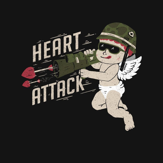 Heart Attack-womens fitted tee-tobefonseca