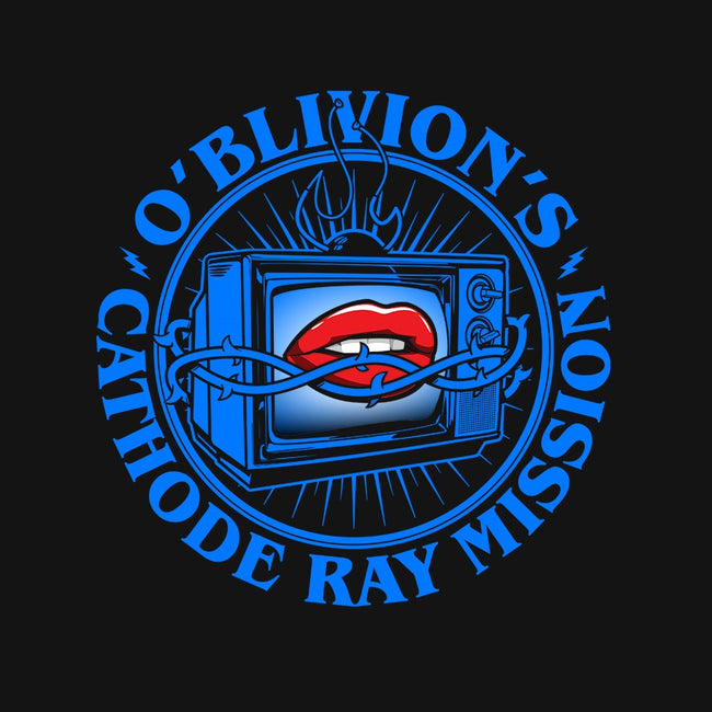 O'Blivion's Cathode Ray Mission-mens basic tee-boltfromtheblue