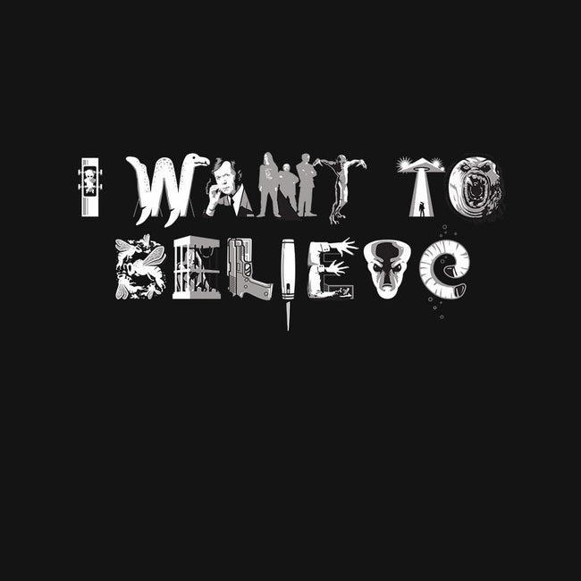 X-Philes-I Want 2 Believe-mens long sleeved tee-Captain Ribman