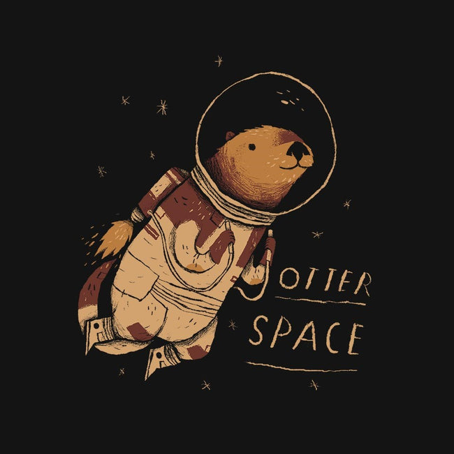 Otter Space-womens basic tee-louisros