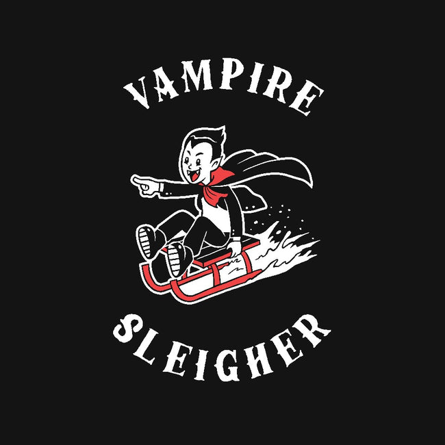 Vampire Sleigher-womens fitted tee-dumbshirts