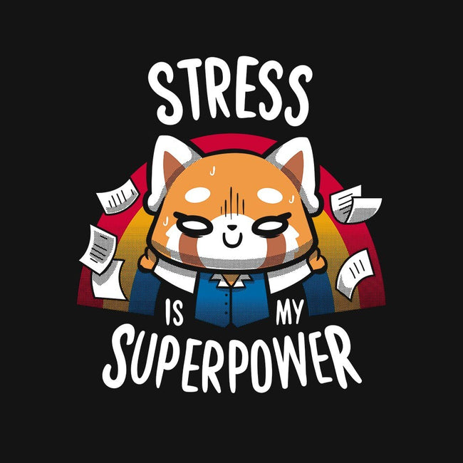 Stress is my superpower-mens basic tee-typhoonic