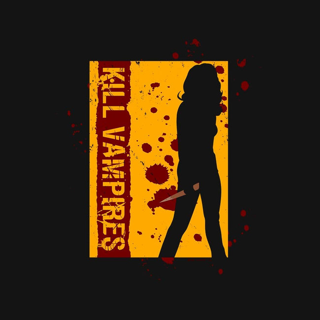 Kill Vampires-womens fitted tee-Boggs Nicolas