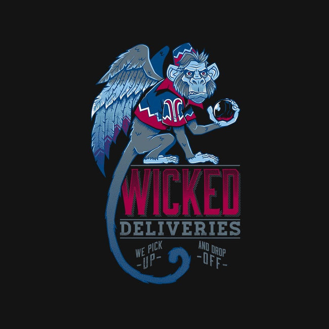 Wicked Deliveries-mens basic tee-Nemons