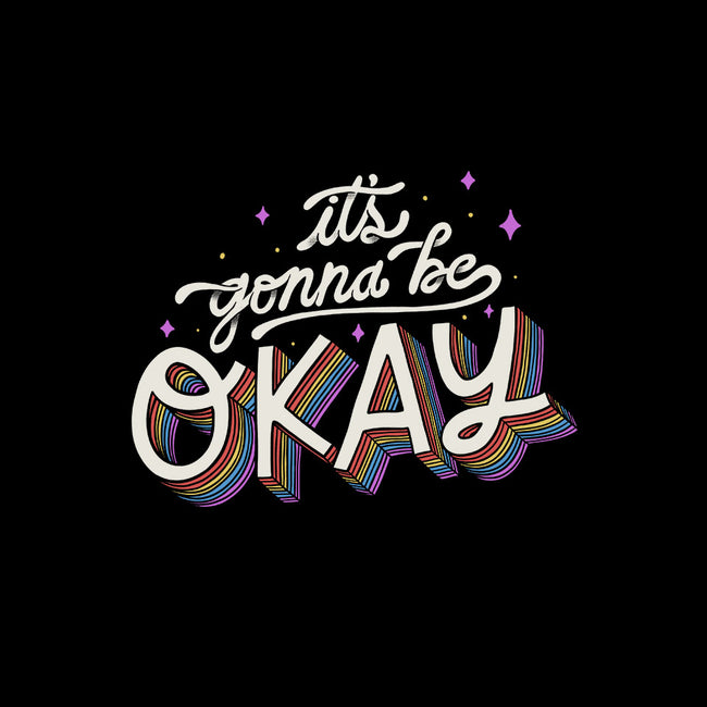 It's Gonna be Okay-womens fitted tee-eduely