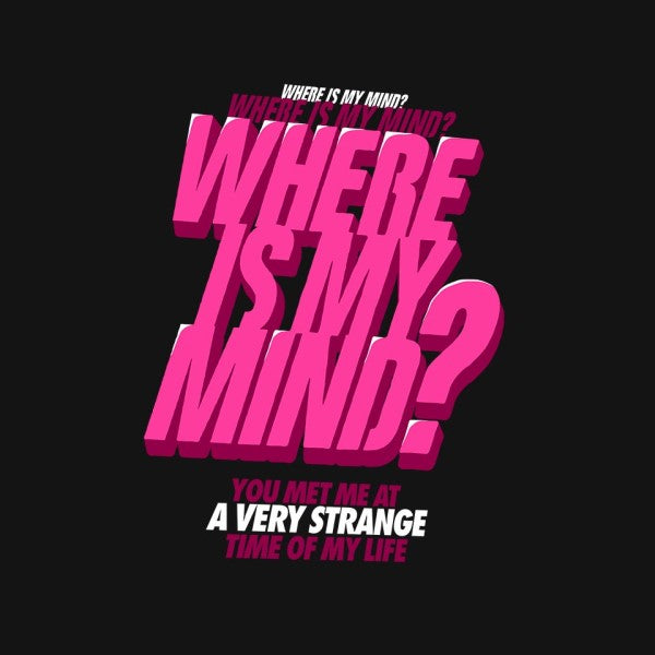 Where Is My Mind?-mens basic tee-butcherbilly