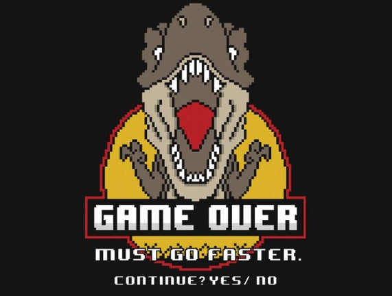 Game Over Dino
