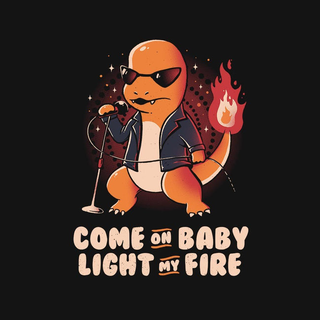Come On Baby Light My Fire-unisex basic tank-eduely