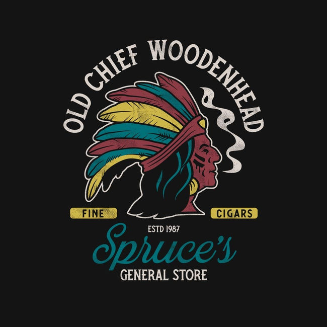 Old Chief Woodenhead-unisex zip-up sweatshirt-Nemons