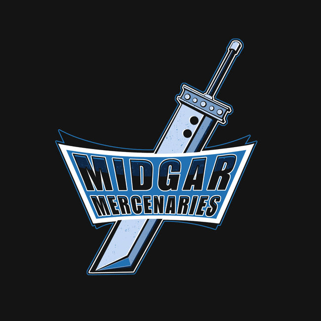 Midgar Mercenaries-youth basic tee-Ste7en Lefcourt