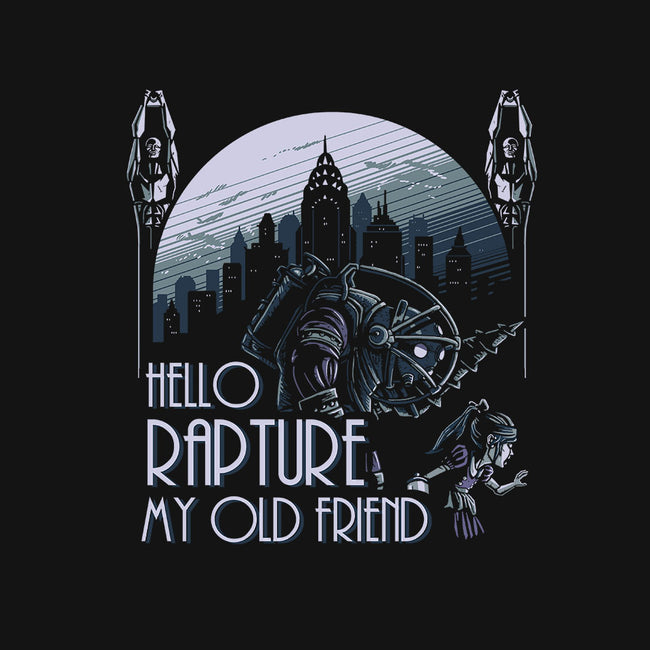 Hello Rapture-unisex basic tank-daobiwan