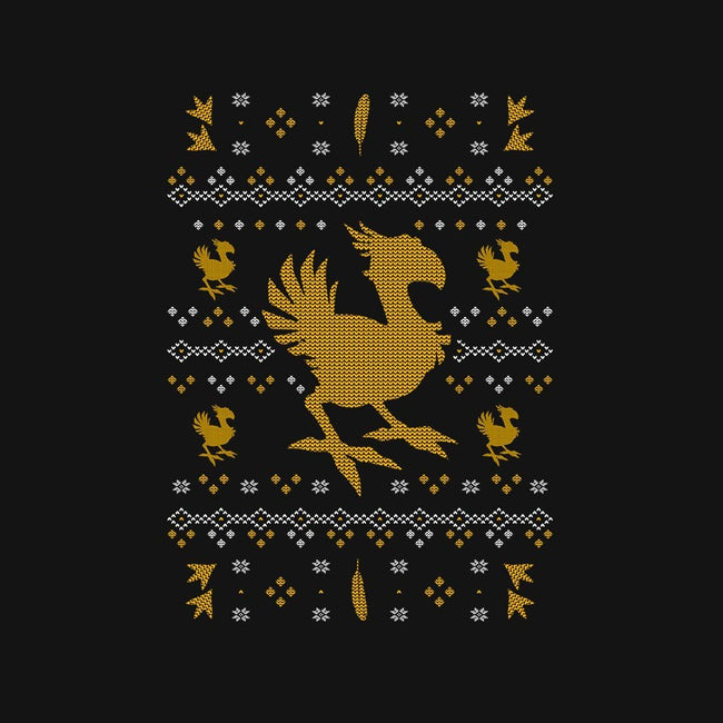 Chocobo Christmas-youth basic tee-Alundrart
