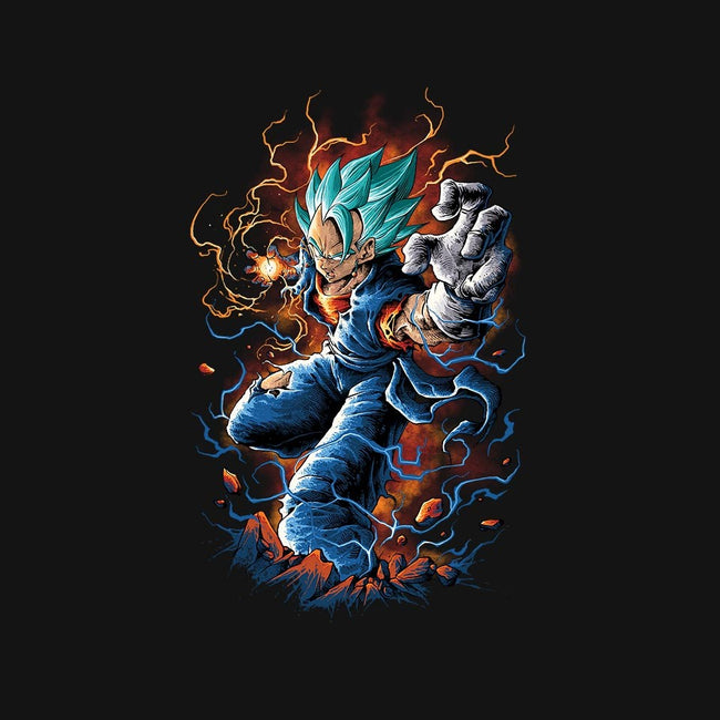 Vegito-womens basic tee-coldfireink
