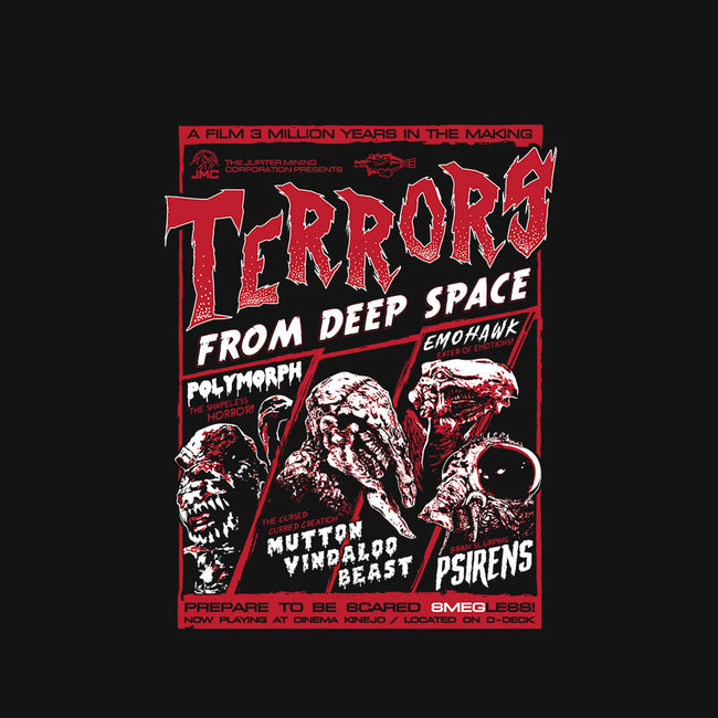 Terrors From Deep Space!-mens basic tee-everdream