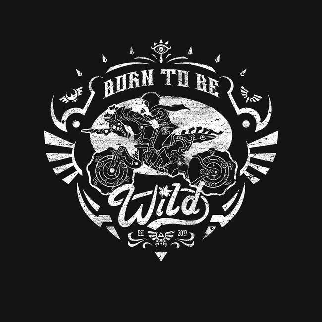 Born To Be Wild-mens basic tee-Kat_Haynes